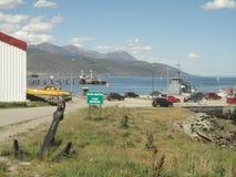 Porto della Terra del Fuoco Fotografie Stock Libere da Diritti