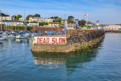 Porto Devon Regno Unito di Paignton fotografia stock