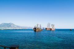 Porto di Alanya Fotografia Stock Libera da Diritti
