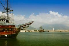Porto di Alanya Fotografie Stock
