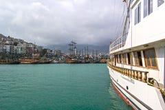 Porto di Alanya Immagini Stock Libere da Diritti