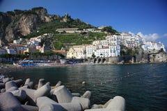 Porto di Amalfi Fotografie Stock