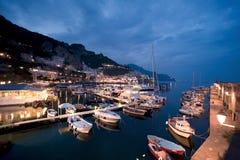 Porto di Amalfi Immagine Stock Libera da Diritti