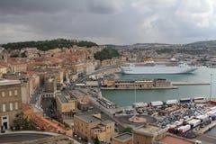 Porto di Ancona Immagini Stock