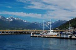 Porto di Andalsnes (Norvegia) fotografia stock libera da diritti