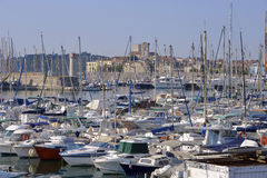 Porto di Antibes in Francia Fotografie Stock