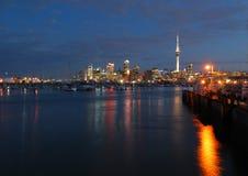 Porto di Auckland immagini stock
