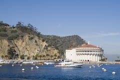 Porto di Avalon - isola di Catalina Immagine Stock