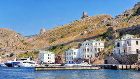 Porto di Balaclava fotografia stock libera da diritti
