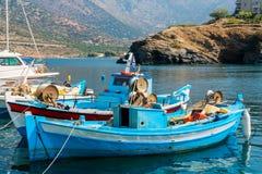 Porto di Bali Crete, Grecia Immagini Stock Libere da Diritti