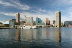 Porto di Baltimora in estate Fotografia Stock Libera da Diritti