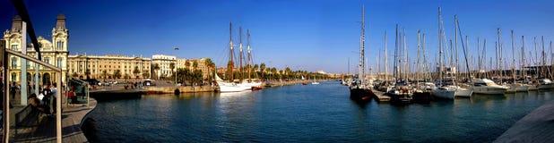 Porto di Barcellona Immagini Stock Libere da Diritti