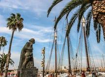 Porto di Barcellona Fotografia Stock