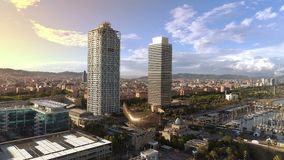 Porto di Barcellona Olimpic archivi video
