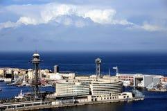 Porto di Barcellona, Spagna Immagine Stock Libera da Diritti