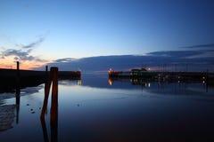 Porto di bassa marea fotografia stock
