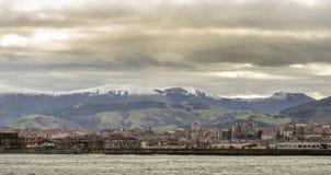 Porto di Bilbao Fotografia Stock