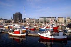 Porto di Bodo, Norvegia Fotografie Stock Libere da Diritti