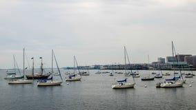 Porto di Boston Fotografia Stock Libera da Diritti