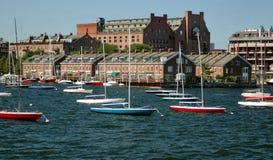 Porto di Boston Immagini Stock Libere da Diritti