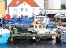 Porto di Burgstaaken fotografia stock libera da diritti