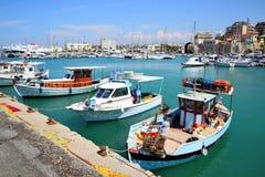 Porto di Candia immagine stock