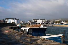 Porto di Carrickgergus Fotografie Stock