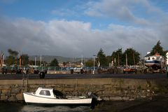 Porto di Carrickgergus Fotografia Stock Libera da Diritti