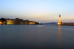 Porto di Chania Fotografie Stock