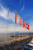 Porto di Cisano - Lago di Garda (Italy) Stock Photos