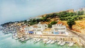 Porto di Ciutadella Immagine Stock Libera da Diritti
