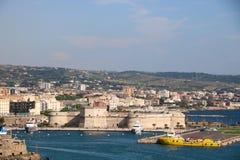 Porto di Civitavecchia immagini stock