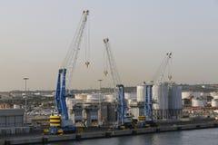 Porto di Civitavecchia Fotografie Stock