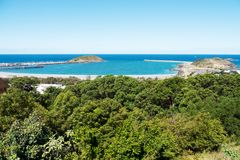 Porto di Coffs Fotografia Stock