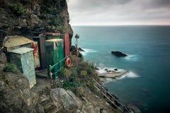 Porto di Corniglia Fotografia Stock Libera da Diritti