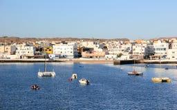 Porto di Corralejo, Fuerteventura, isole Canarie. Fotografia Stock Libera da Diritti