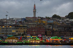 Porto di Costantinopoli Fatih immagini stock libere da diritti
