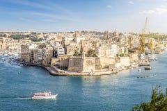 Porto di crociera di La Valletta, Malta Immagini Stock