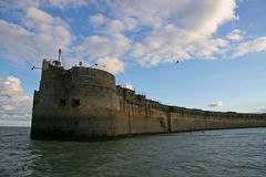 Porto di Dover Fotografia Stock Libera da Diritti
