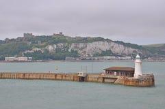 Porto di Dover, Regno Unito fotografia stock