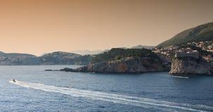 Porto di Dubrovnik Fotografie Stock Libere da Diritti