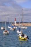 Porto di Erquy in Francia Fotografia Stock Libera da Diritti