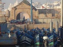 Porto di Essaouira, Marocco immagine stock libera da diritti