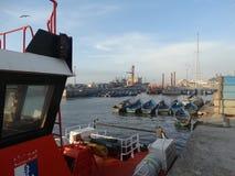 Porto di Essaouira, Marocco immagini stock
