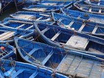 Porto di Essaouira, Marocco fotografie stock