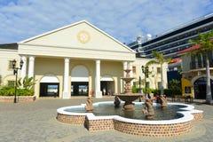 Porto di Falmouth, Giamaica Immagine Stock Libera da Diritti