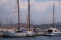 Porto di Frioul, Marsiglia Fotografia Stock
