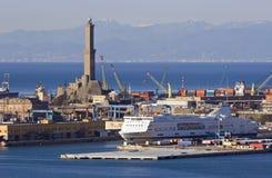 Porto di Genova 2 Fotografie Stock Libere da Diritti