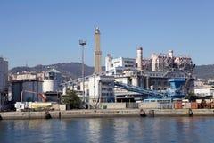 Porto di Genova, Italia Fotografia Stock