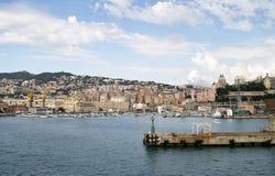 Porto di Genova fotografie stock libere da diritti